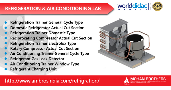 Refrigeration & Air Conditioning Lab Manufacturer – Ambros India