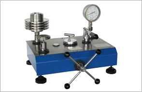 dead weight pressure gauge tester appratus