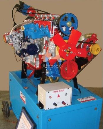 4 stroke 4 3 cylinder petrol engine motor driven