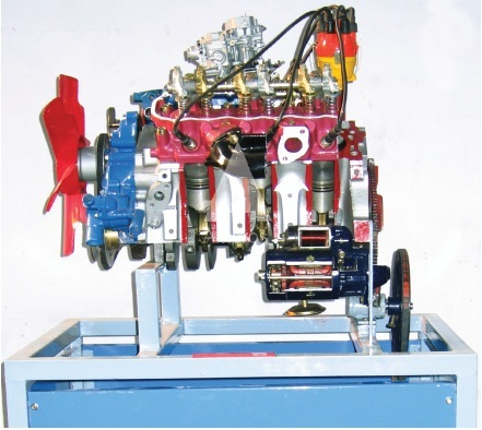 4 stroke 6 cylinder petrol engine V 6