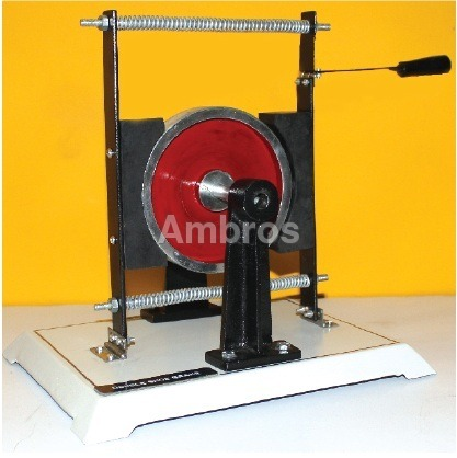 double shoe brake working model