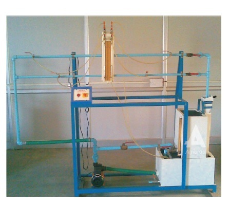 friction in pile lines apparatus