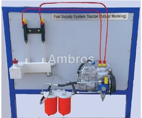 fuel supply system of a 4 cylinder diesel engine