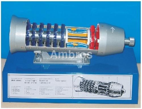 gas turbines or turbojet engine model