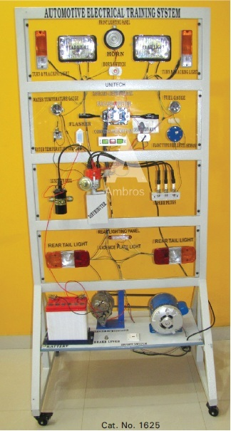 mock layout of car wiring latest type