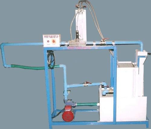 pilot static tube set-up