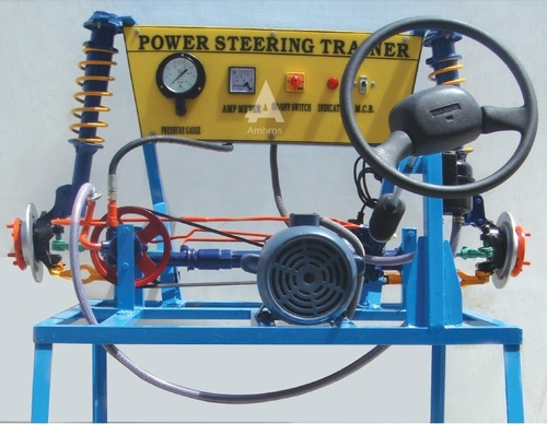 power steering trainer system actual working