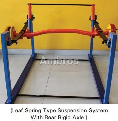 rear suspension system