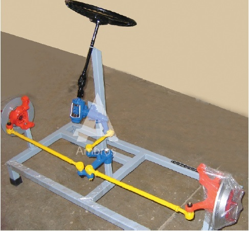recalculating ball type steering system
