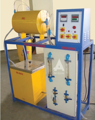 shell tube heat exchanger water to water