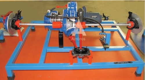 transaxle gear box with differential