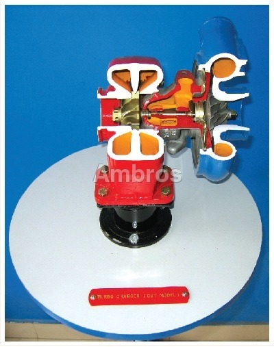 turbo charger actual cut section