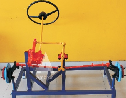 worm roller type steering system